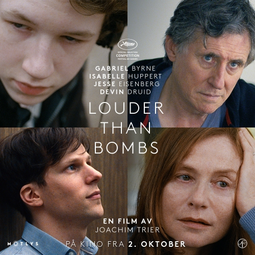 "Joachim Tier's drama, ""Louder Than Bombs"" (2015), opens the 19th Sonoma International Film Festival on Wednesday, March 30, at the Sebastiani Theatre."