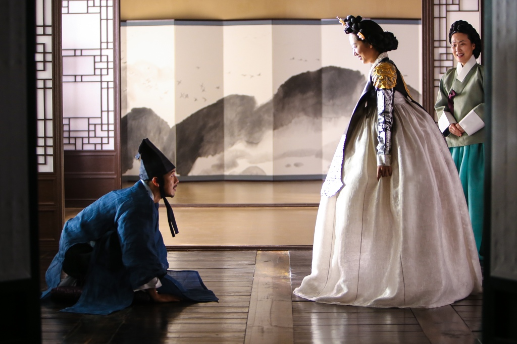 "In South Korean director Lee Won-suk's sumptuous period drama, ""The Royal Tailor,"" a commoner with an innate gift for clothing design catches the eye of the queen and then goes on to design clothing that upsets etiquette and ignites the passions of rivals. Photo: CAAM"