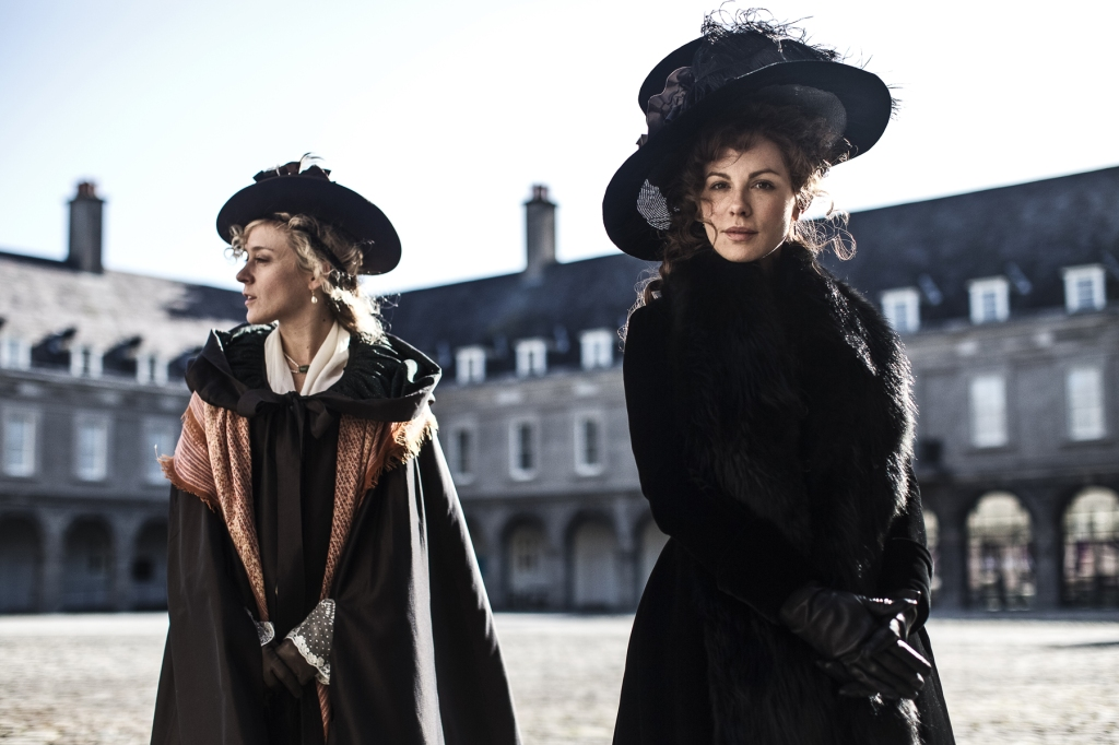 "Kate Bekinsdale and Chloe Sevigny in Whit Stillman's first period film, the romantic comedy, ""Love & Friendship,"" opens the 59th San Francisco International Film Festival, April 21st - May 5th, 2016. Both Stillman and Bekinsdale will be in attendance. Image: courtesy San Francisco Film Society"