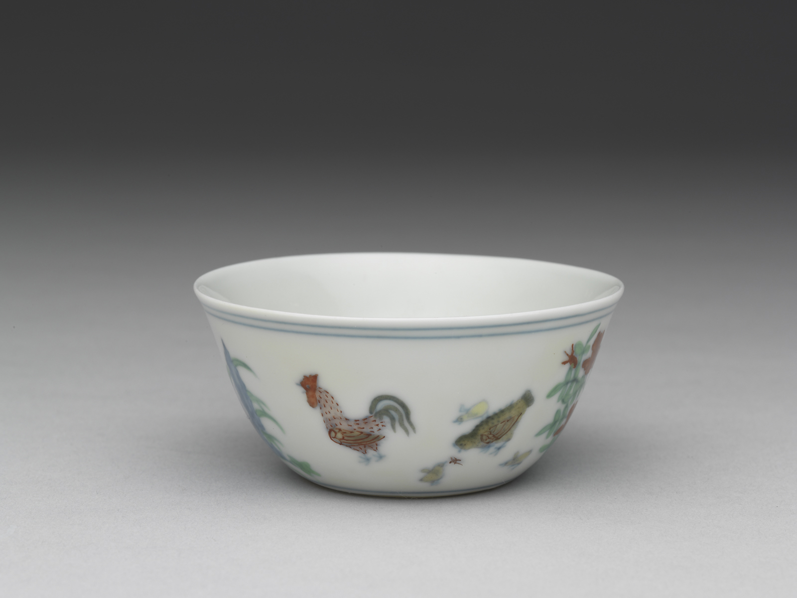 AAM Emperors' Treasures Cup with chicken design EX2016.3.91_01