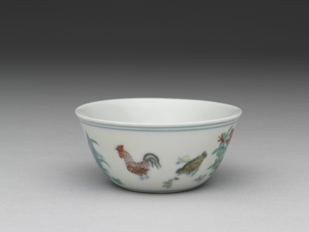 AAM Emperors' Treasures Cup with chicken design EX2016.3.91_01