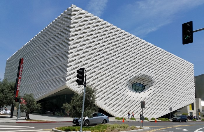 The Broad on Grand Avenue in downtown Los Angeles. Photo: Geneva Anderson