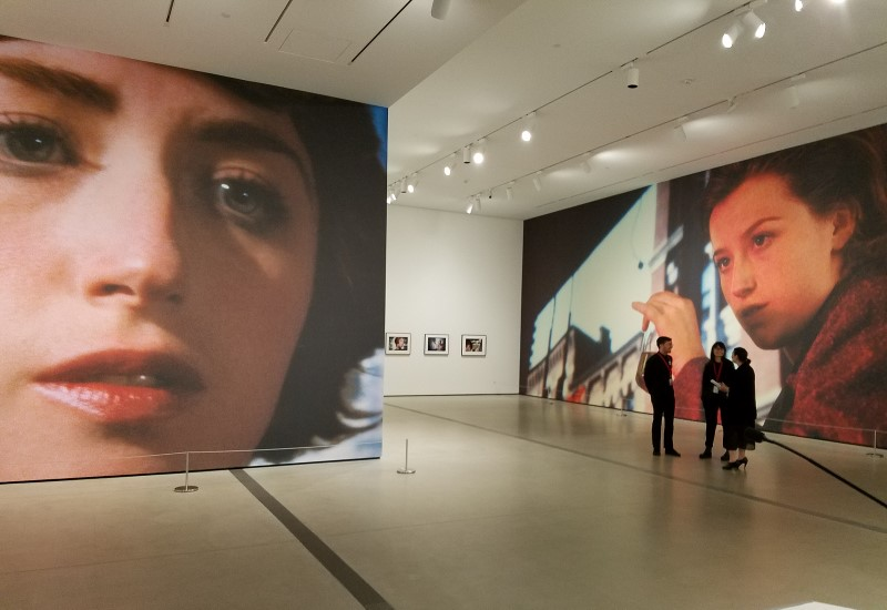 "Installation view ""Cindy Sherman: Imitation of Life,"" The Broad's first special exhibit, June 11- October 2, 2016. Eli and Edythe Broad have collected Cindy Sherman's work since the early 1980s. The Broad collection represents every body of work the artist has produced to date Photo: Geneva Anderson"