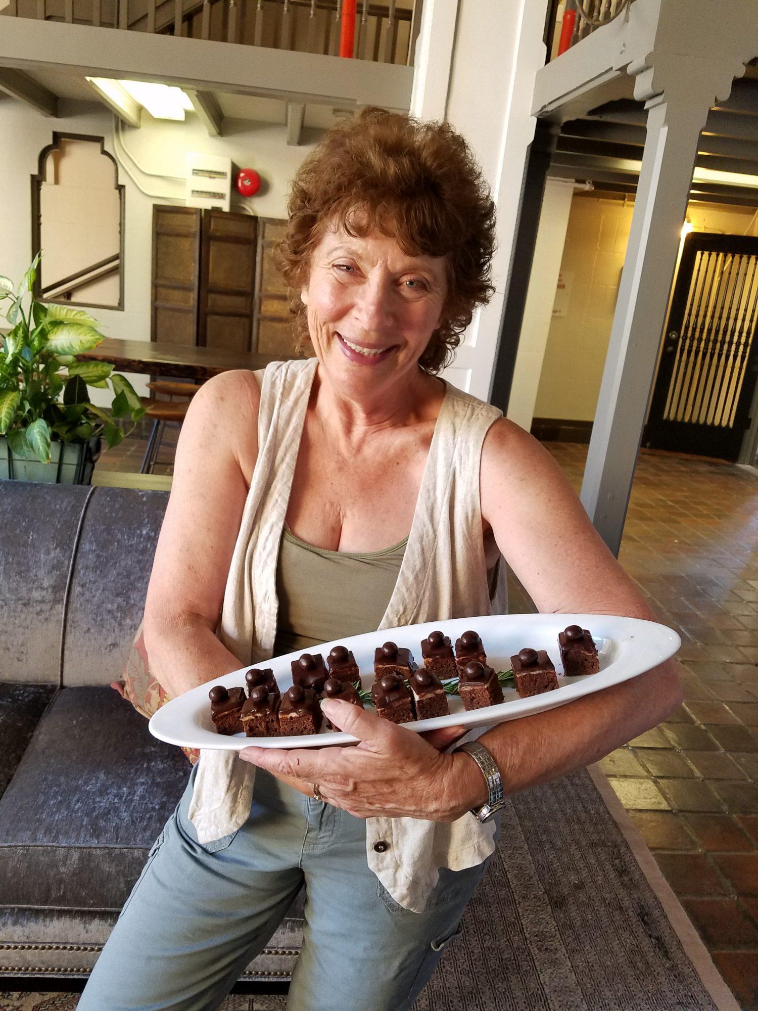 Laura Sunday, Taste Of Petalumau0027s Founder/organizer, In The Lobby Of The  Hotel