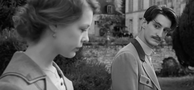 "Paula Beer and Pierre Niney in a scene from François Ozon's ""Frantz."""