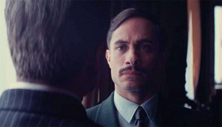 "Actor Gael García Bernal stars in director Pablo Larraíns new film, ""Neruda."""