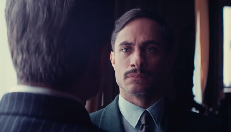 "Actor Gael García Bernal stars in director Pablo Larraíns new film, ""Neruda."""