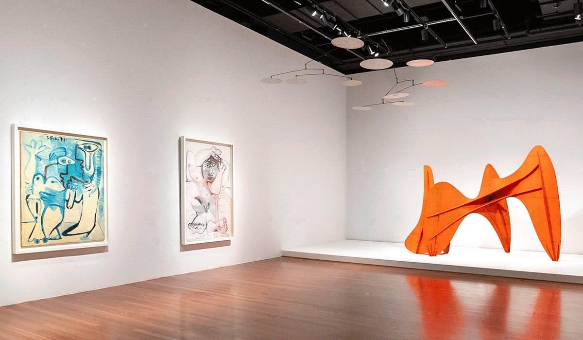 de Young Calder Picasso